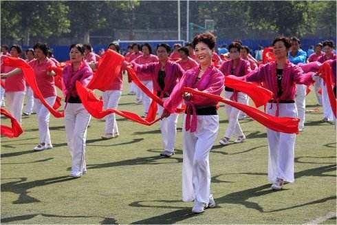 舞蹈对中老年人生活的影响