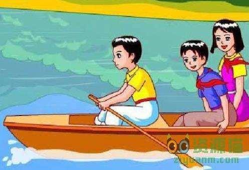 让我们荡起双桨简谱