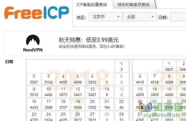 免费ICP查询,最新icp备案查询