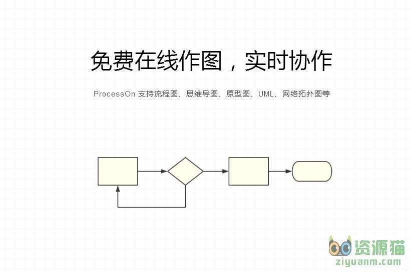 ProcessOn,免费在线作图