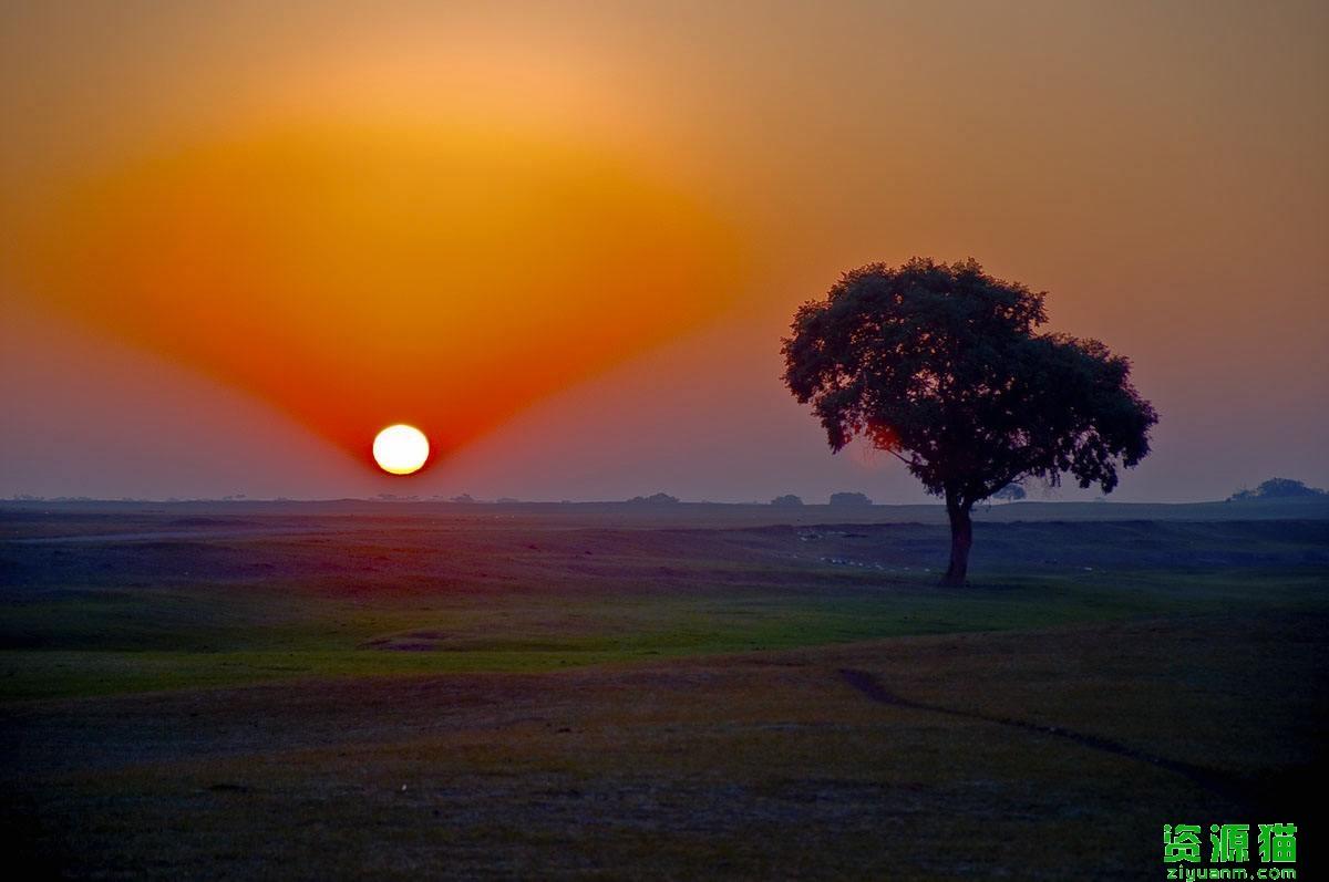 草原上升起不落的太阳简谱