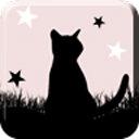 黑猫动漫logo图标