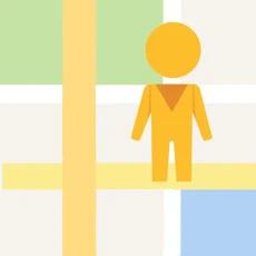 街景地图logo图标